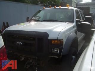 2008 Ford F550 Stake Truck