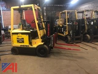 Hyster 5,000 Lb Electric Forklift