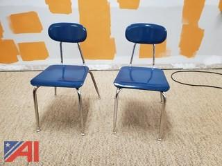Blue Student Chairs