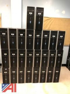 HP Compaq 8200 Elite Convertible Microtower Intel Core i7 vPro Computers