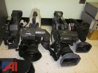 Cameras and Various AV (Audio Visual) Equipment