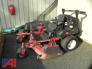 Toro Z Master Commerical Mower with Bagger