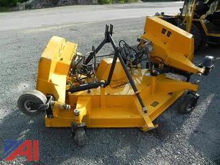 Trackless MT10 10' Rotary Mower Attachment
