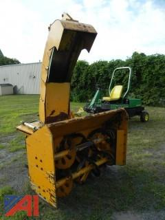 "51"" Trackless Snow Blower Attachment with Sidewalk Chute"