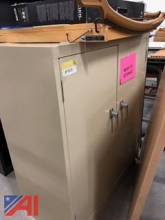 Small 3' Storage Locking Cabinet