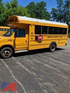 2012 Ford E450 Super Duty Mini Wheelchair School Bus