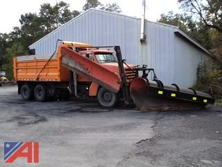 2000 Sterling LT9500 Dump Truck with Viking Plow and Wing