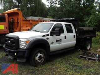 2011 Ford F450 Super Duty Dump Truck