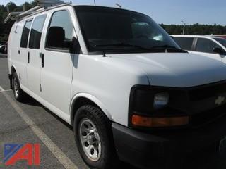2012 Chevy Express 1500 Cargo Van