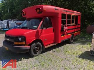 2006 Chevy Express 3500 Bus