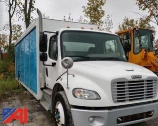 2011 Freightliner M2 106 Medium Duty Semi-Trailer Truck