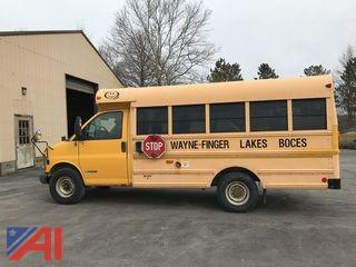 2002 Chevy Express Mini School Bus