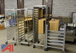 Stainless Steel Commercial Rolling Racks