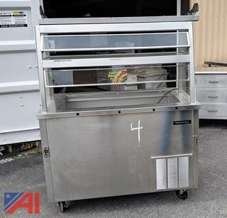 Delfield Cold Pan Counter