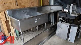 Stainless Steel Double Bay Sink