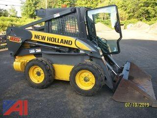 2012 New Holland L185 Skid Steer Loader