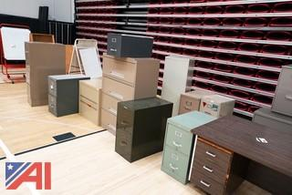 Lot Office Desks & Files