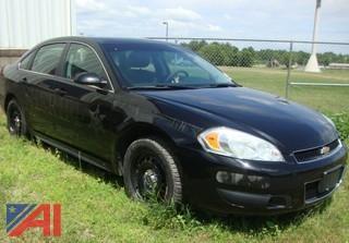(#1550) 2014 Chevy Impala 4 Door/Police Cruiser