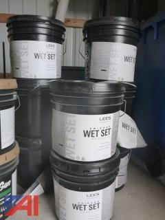 (#1544) Containers of Floor / Carpet Adhesive New/Old Stock