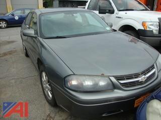 (#1546) 2005 Chevy Impala 4 Door