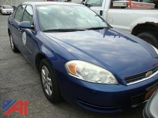 (#1547) 2006 Chevy Impala 4 Door