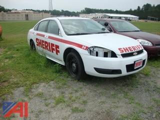 (#1549) 2012 Chevy Impala 4 Door/Police Cruiser