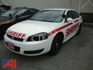 (#1552) 2013 Chevy Impala 4 Door/Police Cruiser