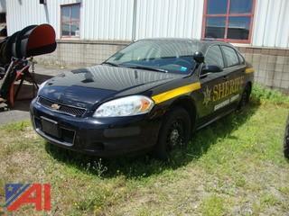 (#1553) 2014 Chevy Impala 4 Door/Police Cruiser