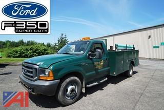 2001 Ford F350 Super Duty Utility Truck
