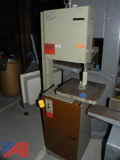 (#13) Vega 114 Vertical Band Saw