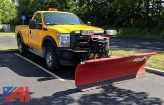 2015 Ford F-250 XL Super Duty Pickup Truck & Plow