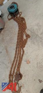 Wel-Bilt 5 Ton Chain Hoist