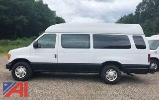 2004 Ford E250 Transport Van with Wheelchair Lift