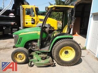 2007 John Deere 3320 Compact Tractor