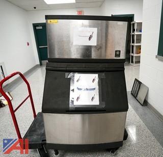 Manitowoc Q Series Ice Machine, Water Cooled