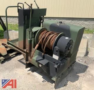 20 Ton Military DP Manufacturing 45BDX1L1D Drum Winch