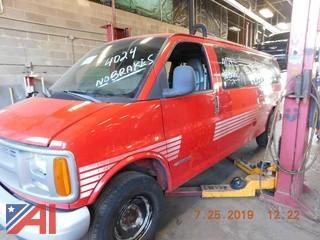 2002 Chevy Express 3500 Van