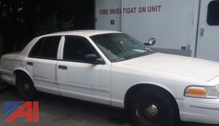 1998 Ford Crown Victoria 4 Door/Police Interceptor