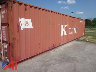 8' x 40' Steel Container