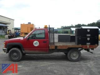 2000 Chevy C/K 3500 Flat Utility Truck