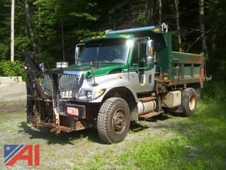 2006 International 7500 Dump Truck with Sander, Plow and Wing