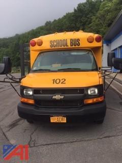 2016 Chevy Express G3500 Mini School Bus