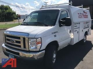 2012 Ford E350 Super Duty Utility Truck