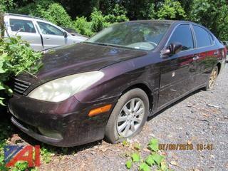 2002 Lexus ES 300 4 Door