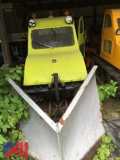 1968 Bombardier Sidewalk Plow