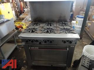 Garland Stove & Vulcan Grill