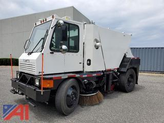2010 Johnston Elevator Sweeper Truck
