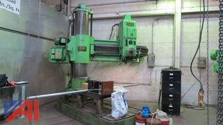 Hydraulic Radial Drill