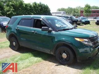 2013 Ford Explorer SUV/K9 Police Emergency Vehicle