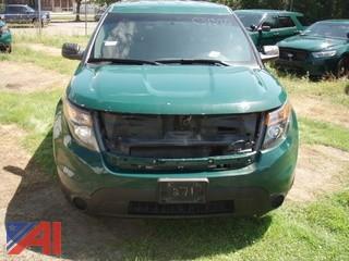 2013 Ford Explorer SUV/Police Emergency Vehicle